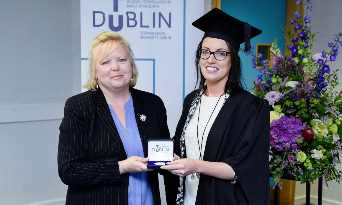 CPD Global Business Services (GBS) Graduation 2019 gold medal