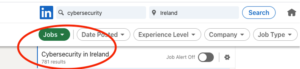 cybersecurity jobs in Ireland